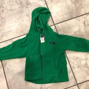North Face fleece toddler jacket
